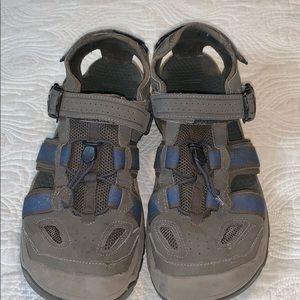 Men's Teva closed toe sandals 12.5